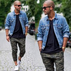 Urban Style // jacket denim