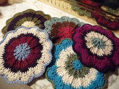 A Potholder Christmas by rainyday*knitter, via Flickr