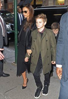 Victoria Beckham & Romeo Beckham | NYFW