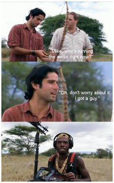 Destination Truth in Tanzania.: don't worry about it. I got a guy.