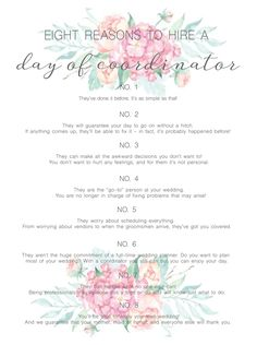 Here at The Lodge, we offer many services through our Sassifras Design  Center to help make your special day perfect! From offering Day-of  Coordinators to personal calligraphers, we've got you covered. See here why  having a Day-of Coordinator makes all the difference when it comes to your  wed