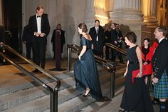 Prince William and Duchess of Cambridge arrive at Metropolitan Museum of Art to attend the St. Andrews 600th Anniversary Dinner December 9, 2014 in New York City Photo (C) Rex, Reuters, Getty