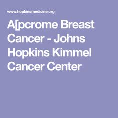 breast foundation hopkins johns center avon