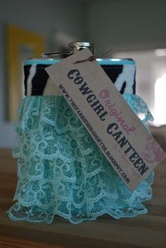 The Farrier's Daughter: Cowgirl Canteens™ Hip Flasks For Women