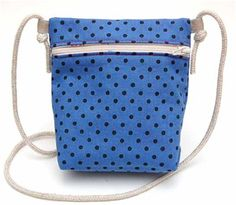How To Sew Kid-sized Messenger Bag. Pattern & Photo Tutorial