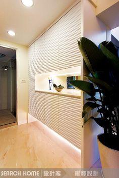 現代風的裝潢圖片為權釋設計的設計作品,該設計案例是一間新成屋(5年以下)總坪數為25,格局為兩房,更多權釋設計設計案例作品都在設計家 Searchome