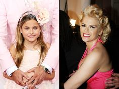 "Anna Nicole Smith's 9-year-old daughter, Dannielynn, is a ""miniature"" version of the late TV personality, according to her dad, Larry Birkhead"