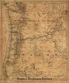 38 Best Washington Vintage Map images