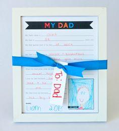 """10 dicas """"DIY"""" para seus filhos produzirem o presente para o Dia dos Pais! - Just Real Moms - Blog para Mães"""