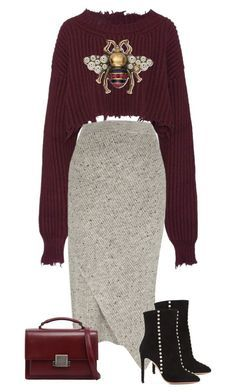 featuring Unravel, River Island, Aquazzura, Yves Saint Laurent and Gucci Passion For Fashion, Love Fashion, Winter Fashion, Fashion Looks, Womens Fashion, Mode Outfits, Chic Outfits, Fall Outfits, Fashion Outfits