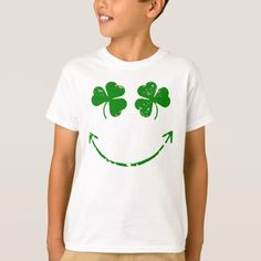 St Patrick's Day Smiley face humor T-Shirt