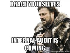 Brace yourself - Brace yourselves Internal audit is coming