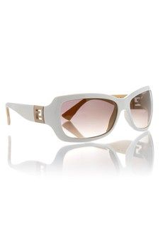 Fendi White Sunglasses