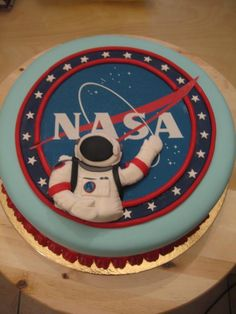 NASA cake! #Aerospace #Food