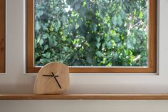 Upcycled Wooden Clock (Mantle or Wall clock). $60.00, via Etsy.