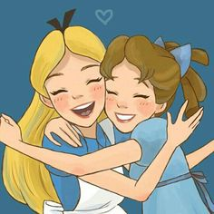 ideas drawing disney love alice in wonderland Disney Pixar, Disney Animation, Disney Magic, Disney Amor, Arte Disney, Disney Fan Art, Disney Girls, Disney And Dreamworks, Disney Movies