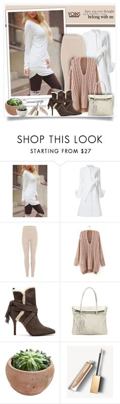 """""""Yoins"""" by sneky ❤ liked on Polyvore featuring Goen.J, adidas Originals, Schutz, Burberry, NARS Cosmetics, yoins, yoinscollection and loveyoins"""