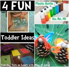 Learn with Play @ home: 4 Fun Toddler Ideas on Tuesday Tots