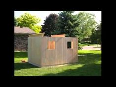 How To Build A Shed - YouTube