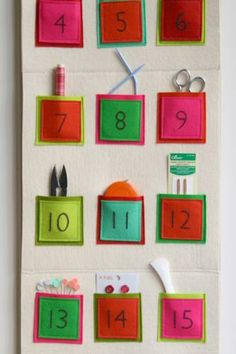 calendrier avent purlebee Inspiration: calendriers de l'avent