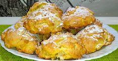 jablkove-sušienky Dessert Recipes, Desserts, Pretzel Bites, French Toast, Protein, Food And Drink, Biscotti, Yummy Food, Sweets
