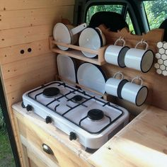Home-made camper kitchen chest of drawers - # camper kitchen chest of drawers . - Home-made mobile home kitchen dresser – # Motorhome kitchen dresser # campеr Home-made - Camper Diy, Homemade Camper, Kombi Camper, Trailers Camping, Rv Campers, Small Campers, Camper Trailers, Travel Trailers, Custom Campers