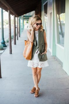 Simply Sutter featuring our raw edge leather tote!! Gorgeous OOTD right here.