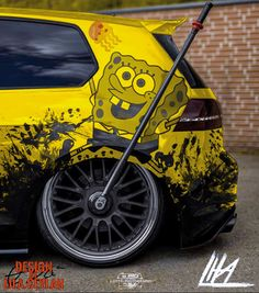 Vw Cars, Audi Cars, Volkswagen Caddy, Volkswagen Golf, Weird Cars, Cool Cars, Stitch And Pikachu, Vw Pointer, Vw Golf 7