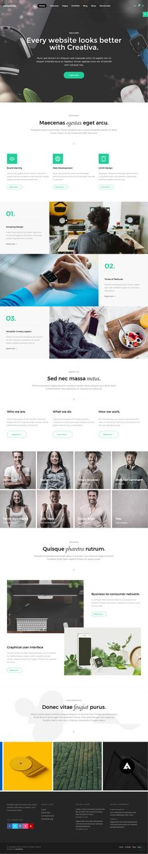 Creativa : Ultimate Multi-Purpose WordPress Theme