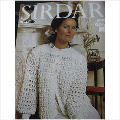 Sirdar knitting pattern 5510 ladies bedjacket Bust 32 - 42 on eBid United Kingdom