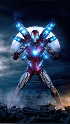 Iron Man Mark 85 Badass IPhone Wallpaper - Best of Wallpapers for Andriod and ios Iron Man Pictures, Iron Man Photos, Iron Man Hd Wallpaper, Avengers Wallpaper, Iron Man Art, Iron Man Avengers, Superhero Poster, T Rex, Marvel Comics