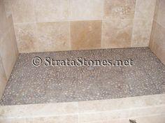 Google Image Result for http://www.stratastones.net/images/gallery/tan-pebble-tile-shower-pan.jpg