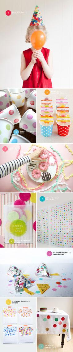 Polka Dot Party Ideas | Oh Happy Day!