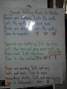 Mrs. Whaley's Kindergarten: Animals in Winter