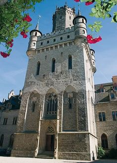 Marienburg Castle is a Gothic revival castle in Pattensen, Niedersachsen, Hanover, Lower Saxony, Germany.