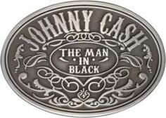 Johnny Cash, Belt Buckle, Man In Black