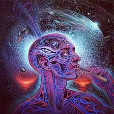 Psychedelic Spirit Paintings, Alex Grey Art Gallery – Third Monk Alex Grey is known for his paintings of glowing anatomical Alex Grey, Alex Gray Art, Grey Art, Art Gris, Art Visionnaire, Acid Trip, Pineal Gland, William Blake, Mystique