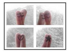 dibujos en los dedos - Taringa!