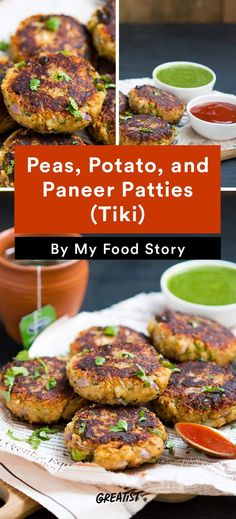 5. Peas, Potato, and Paneer Patties (Tiki) #healthy #indian #food http://greatist.com/eat/indian-recipes-that-are-easy-to-make-at-home