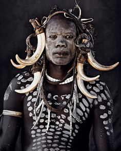 Over three years, photographer Jimmy Nelson travelled the world, 'visiting more than 35 groups, tribes and people of indigenous cultures' to create his incredible photo series, 'Before They Pass Away'.
