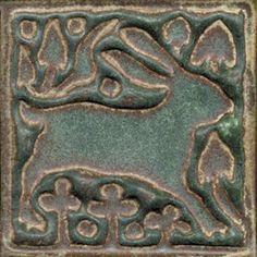 : Bunny Tiles – Hobbies paining body for kids and adult Art Sculpture, Pottery Sculpture, Pottery Art, Clay Tiles, Mosaic Tiles, Craftsman Tile, Bunny Art, Bunny Bunny, Art Nouveau Tiles