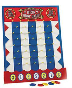 carnival games,dart balloons,animal shape,ring toss,duck shoot,cane rack,rings,darts - Jilly Bean Kids jillybeankids.com -- Cute supplies pretty cheap