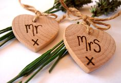 Place tags / christmas ornament favors