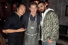 Drake Just Had a Date Night with His Mom and Bobby Flay Over This Epic Dinner Hosted by Chef Susur Lee