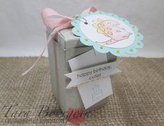 Little Buddy Birthday, Gift Box Punch Board.  Designed by Tara Bourgoin, cantstamptherain.blogspot.com