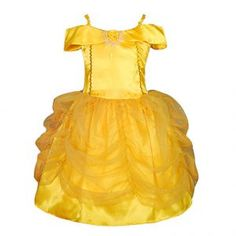 Baby Girls Belle Princess Costume Party Fancy Dresses Up Halloween Costumes Belle Halloween, Dress Up Costumes, Halloween Costumes For Girls, Girl Costumes, Costume Halloween, Halloween Party, Disney Costumes, Christmas Costumes, Princess Belle Costume