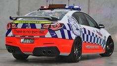 Supercharged HSV GTS is the most powerful Australian car to earn its police stripes. Police Patrol, Police Cars, Radios, 4x4, American Racing Wheels, Holden Australia, Rescue Vehicles, Police Vehicles, Aussie Muscle Cars