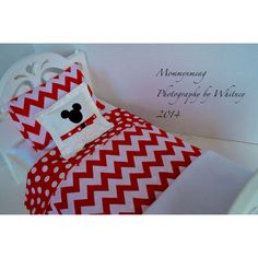 Chevron 5 pc. Doll Bedding for 18 American girl by petitesbowtique, $25.00