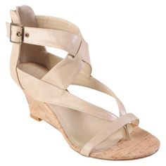 Hailey Jeans Co Womens Strappy Low Wedge Sandal   Rating: Not rated be the first to review