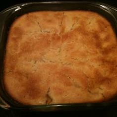 Aunt Babe's Peach Cobbler - this recipe from Allrecipes.com is the same one my ex-husband's family used to make but I'd lost the details long ago - it's simple and old-fashioned and delicious and I was so happy to find the recipe again!